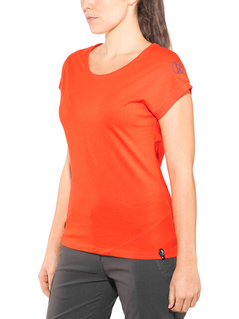 La Sportiva W's Chimney T-Shirt Lily Orange